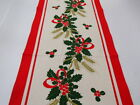 """Nordic Finnish Christmas Table Runners 48"""" long Made in Finland by Finlayson"""