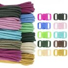 Craft County 100 foot 550 Paracord Crafting Kit – New Vibrant Color Selection