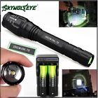 Zoomable 20000LM 5-Mode XMLT6 LED Flashlight Lamp Light 18650+Charge L