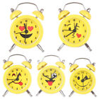 Lovely Mini Round Metal Alarm Clock Desk Stand Home Room Kitchen Office Rapture