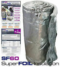 12SQM Roll of SuperFOIL SF60 Multifoil Reflective Insulation for Roofs and Walls