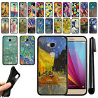 For Huawei Honor 5X, Sensa 4G H710VL H715BL Black TPU SILICONE Case Cover + Pen