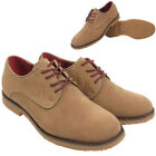 Mens Desert Boot Work Casual Brogue Faux Suede Boots Shoes Office Size UK 7 - 12