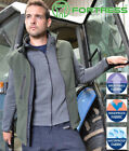 Fortress Soft Shell Fleece Lined Gilet Body warmer - Water Resistant Breathable