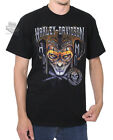 Harley-Davidson Mens Clown Around Jester Black Short Sleeve T-Shirt