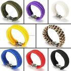 Outdoor Hiking Emergency Paracord Survival Bracelet Umbrella Rope Wrist B20E