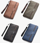 Leather Credit Card Holder Wallet Bifold ID Cash Coin Purse Clutch  Mens O0148