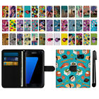 For Samsung Galaxy S7 Edge G935 Ultra Slim Wallet Pouch Case Cover + Pen
