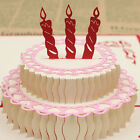 3D Pop Up Cards Valentine Lover Happy Birthday Anniversary Greeting Cards Fashio