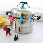 Spill-proof Mini Silicone Cooking Gadget Lid Kitchen Chopsticks Rest Holder 1PC
