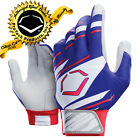 EvoShield Speed Stripe Adult SPEED STRIPE GEL TO SHELL Batting Gloves ROYAL-RED