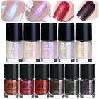 9ml Holographic Transparent Shell Nail Polish Shiny Nail Art Varnish Born Pretty