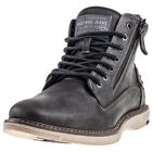 Mustang Lace Up Boot Mens Grey Synthetic Casual Chukka Boots Lace-up New Style