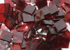 Manchester Red English Muffle Hand Cut Stained Glass Mosaic Tiles #313