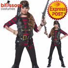 CK1082 Renegade Pirate Costume Kids Halloween Fancy Dress Child Book Week Outfit