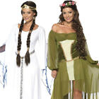 Medieval Maiden Ladies Fancy Dress Tudor Renaissance Adults Womens Costumes New