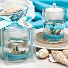 Beach Themed Gel Candle Favors Shells Starfish Beach Party Ocean Reef Tea Light