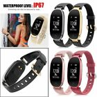 Lady Women Calorie Fitness Tracker Smart Watch Waterproof Wristband Bracelet S3