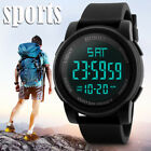 Fashion Men's LED Camping Out Digital Quartz Military Luxury Sport Date Watch US image