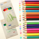 12/18/24/36 Practical Drawing Pencils Crayon Stationery Office School Tools Set