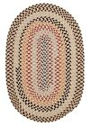 Boston Common Oval Braided Rug, BC82 Harbour Lites ~ Made in USA