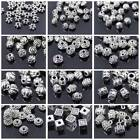 Kyпить 50pcs Tibetan Silver Metal Charms Loose Spacer Beads Wholesale Jewelry Making на еВаy.соm