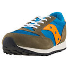 Saucony Jazz Original Vintage Kids Blue Suede & Mesh Casual Trainers Lace-up