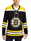 Reebok NHL BOSTON Bruins RBK Premier Alternate HOCKEY Jersey Mens LACE TOP BLANK $84.95 USD on eBay