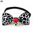 Cute Necktie With Bell Printed Dot Dog Cat Adjustable Bow Tie For Pet Accessory