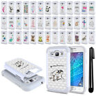 For Samsung Galaxy J1 J100 Crystal Sparkle HYBRID Case Protective Cover + Pen