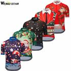 Christmas Trees Weimostar Men Cycling Jersey Team Racing Bike Cycling Clothing