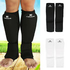 Adult Kid MMA Thai Kick Guards Leg Ankle Protector Training Gear For Kickboxing