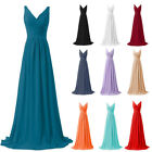 Formal Long Evening Ball Gown Party Prom Women  Bridesmaid Dress Size 6 - 26
