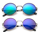 Внешний вид - Retro Round Kids Aviators Sunglasses Colorful Lens UV 100% Lead Free Boys Girls