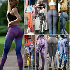 Women High Waist Yoga Fitness Leggings Running Sports Pants Gym Workout Trousers