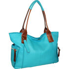 Nino Bossi Oh Cecilia Tote 8 Colors Leather Handbag NEW
