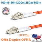 LC TO LC MULTIMODE DUPLEX PATCH CABLE OM2 50/125 100M TO 300M