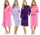 Ladies  Robes Dressing Gown Wrap traditional HOUSECOAT   zip or button OPTION