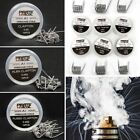 10Pcs Alien Clapton Tiger Fused Kanthal A1 Wire Prebuilt Premade Coils Heater