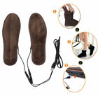Heated Shoe Insoles USB Electric Powered Film Heater Feet Warm Socks Pads CYP US