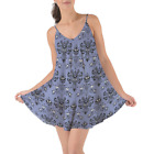 Haunted Mansion Wallpaper Beach Cover Up Dress XS-3XL