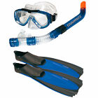 Camaro Best tauchset Professional Complete Flippers Mask Snorkel