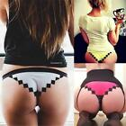 New Womens Patchwork Sexy Comfortable Low Waist Bikini Underwear Briefs B20E