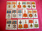 """PICK-A-CARD - PLAYERS """"BADGES & FLAGS OF BRITISH REGIMENTS"""" 1904 BROWN BACK"""
