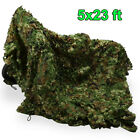 Woodland leaves Camouflage Camo Army Net Netting Camping Military Hunting CoverBlind & Tree Stand Accessories - 177912