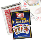 Playing Cards Factory Sealed Plastic Coated Deck Poker Gaming Snap Kids Games