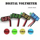 Mini DC 2.5-30V LED Panel Voltage Meter 3-Digital Display Voltmeter Two Wires #L