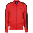 ADIDAS ORIGINALS SUPERSTAR TRACK TOP FIREBIRD TRAININGSJACKE JACKE EUROPA ROT S