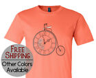 Steampunk Clock Graphic Short Sleeve Victorian Sci-fi Printed T Shirt Tee Shirt