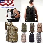 Mens Outdoor Combat Military Backpack Rucksacks Tactical Camping Hiking Bags US